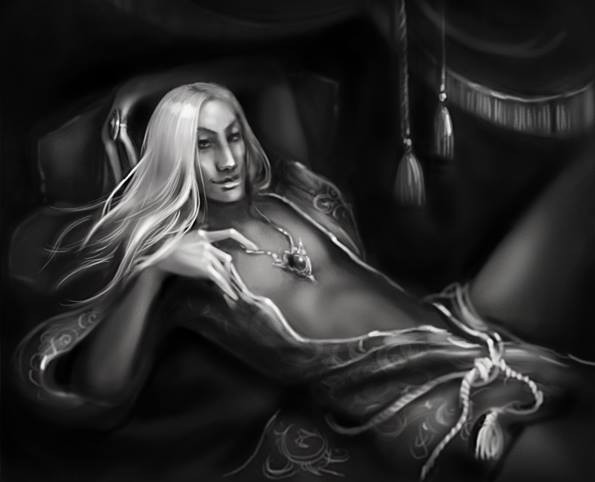 Paul from Starblood, art by Anna Dmitrieva.