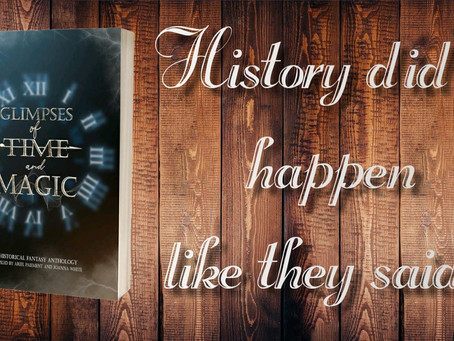 Glimpses of Time & Magic - blog tour