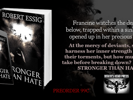 Stronger than Hate, Robert Essig - available for pre-order