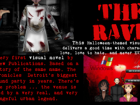 The Rave, by Blake Jeckel - visual horror