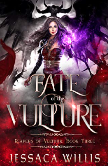 Fate of the Vulture - blog tour