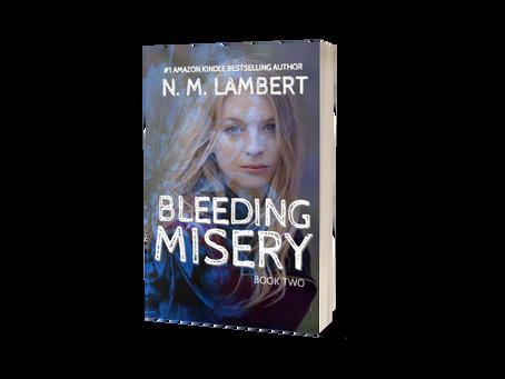 Bleeding Misery, N.M. Lambert - cover reveal