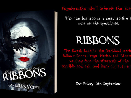 Ribbons, book 4 in the Starblood series - promo