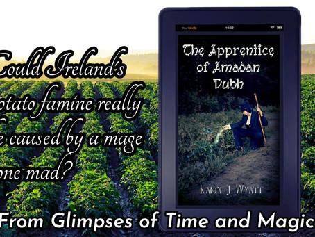 The Apprentice of Amadan Dubh -book tour