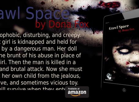 Dona Fox, Women in Horror, blog hop