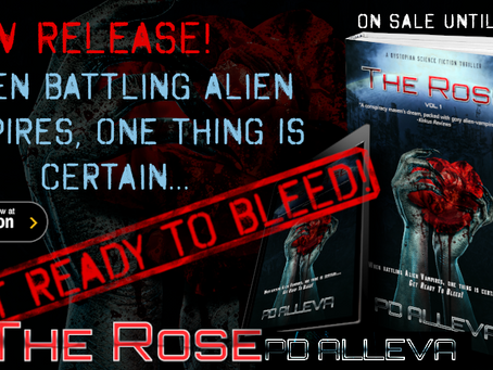 New Release - The Rose by PD Alleva - Alien Vampires