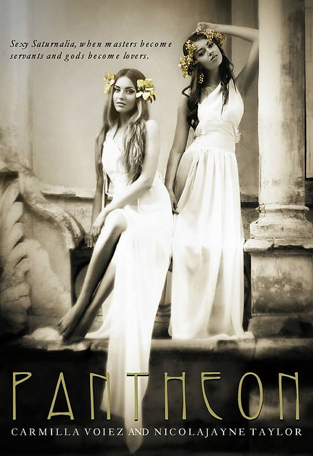 Pantheon book cover featuring Enjay Taylor