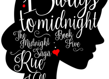 Cover Reveal. Rue Volley's 13 Ways to Midnight, book 5