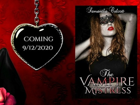 The Vampire Mistress, by Samantha Calcott - blog tour