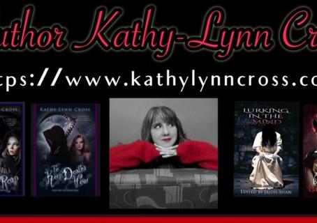 Kathy-Lynn Cross interview. Women in Horror Month