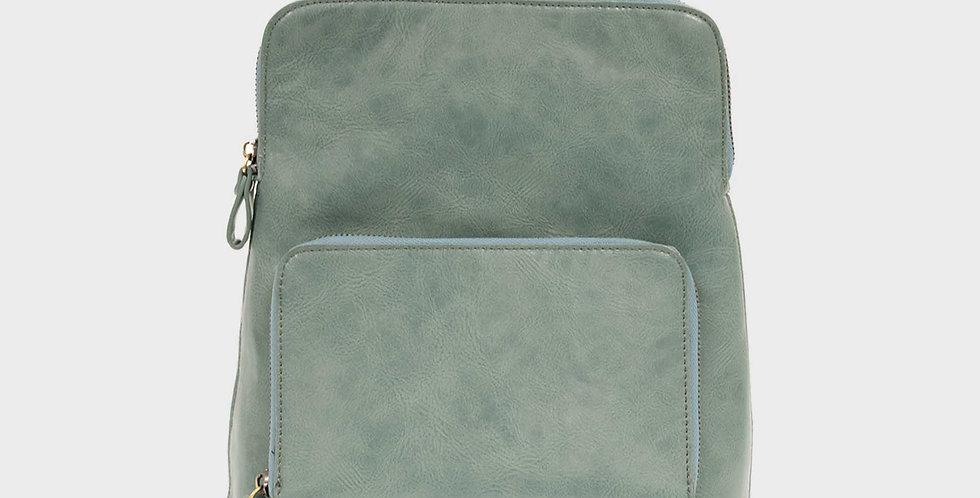 Julia Mini Backpack - Seafoam