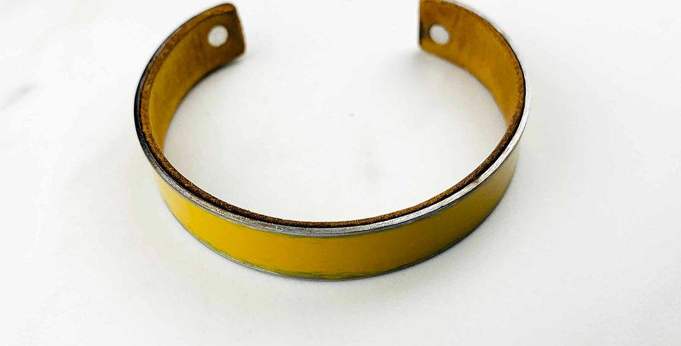 Mustard Patina Metal Cuff
