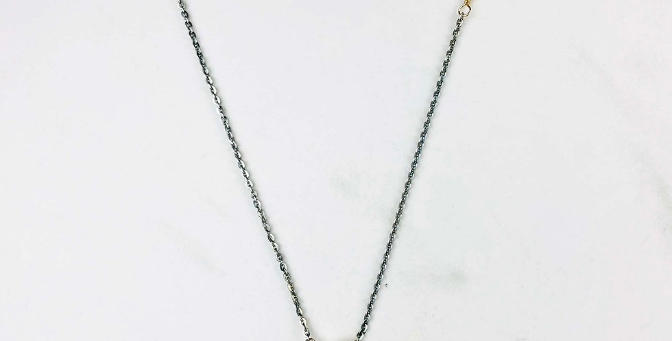 Moonstone Teardrop Necklace