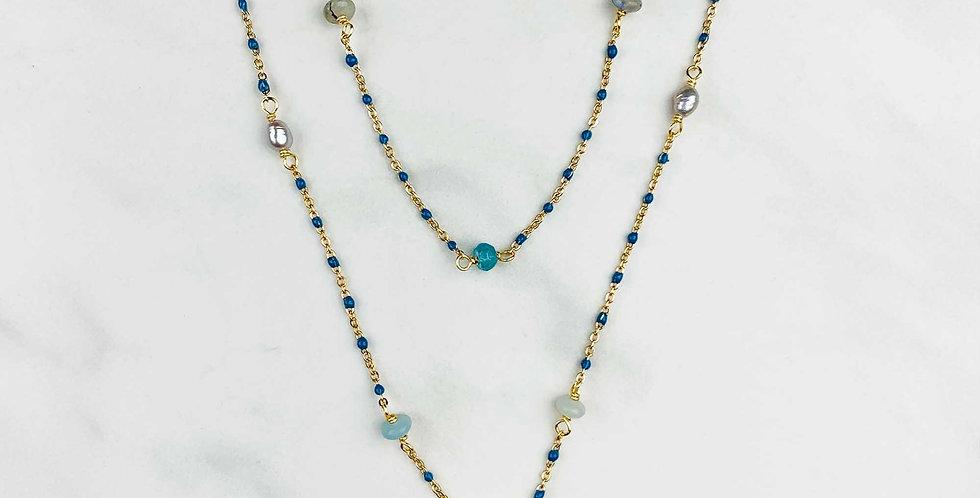 Amazonite Double Strand Necklace