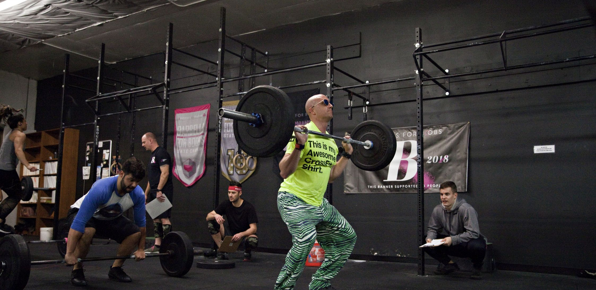 Coach Clark Crossfit Open 2019