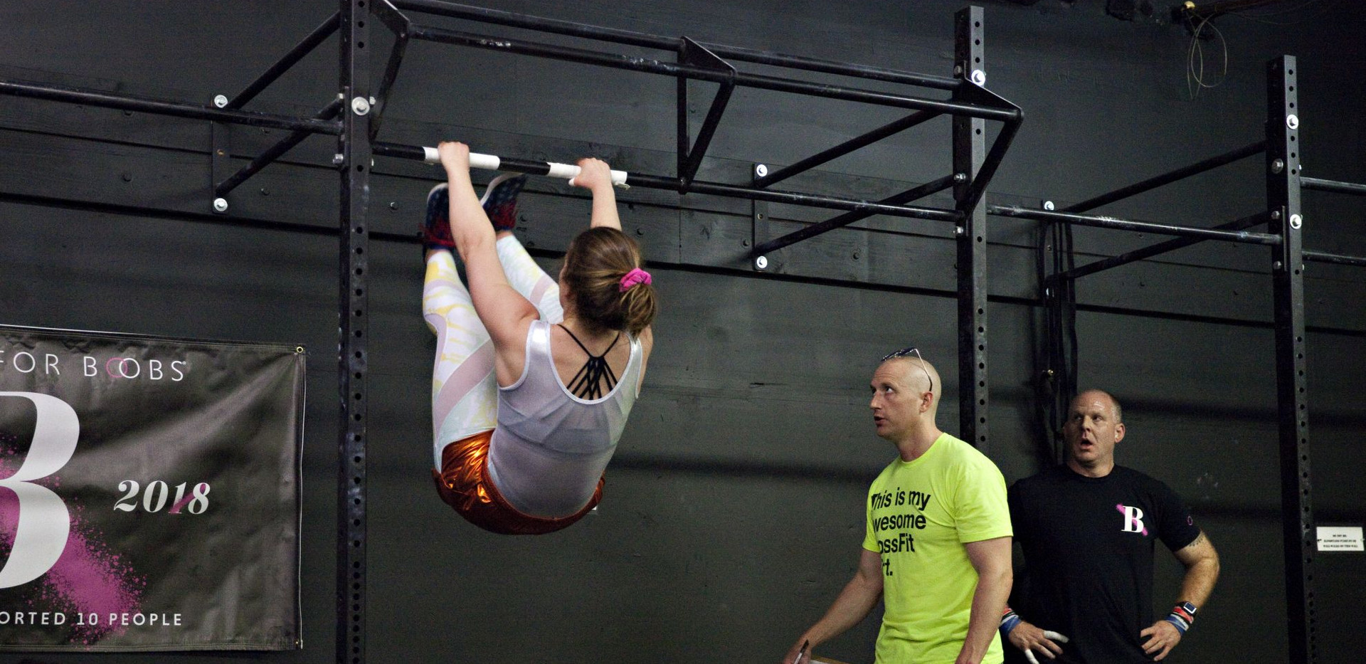 Toes to Bar - Crossfit Open 2019