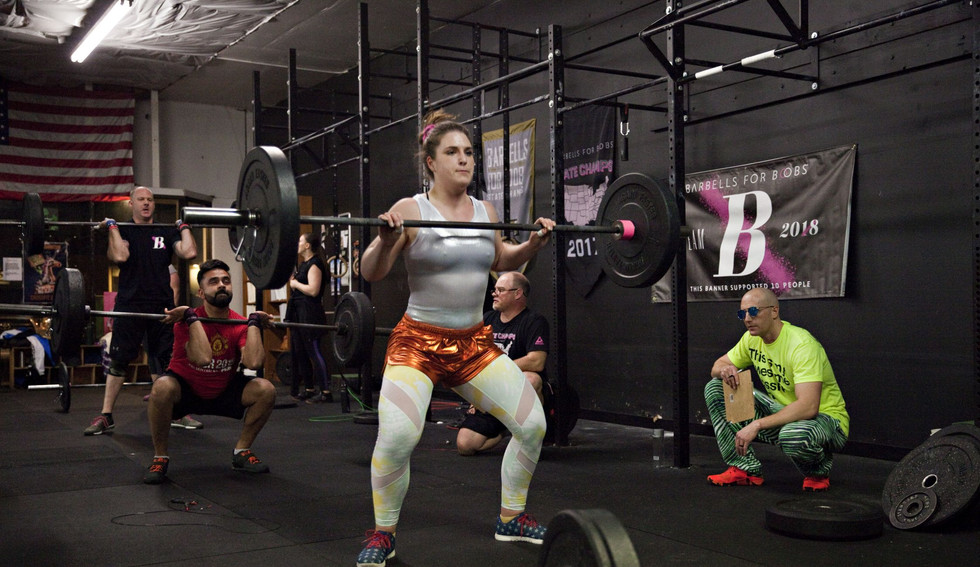 Barbell lifts - Crossfit Open 2019