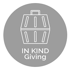 In Kind Giving