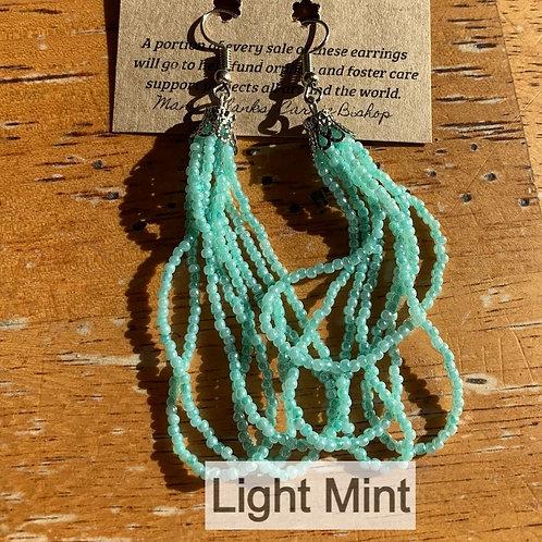 Light Mint Earrings