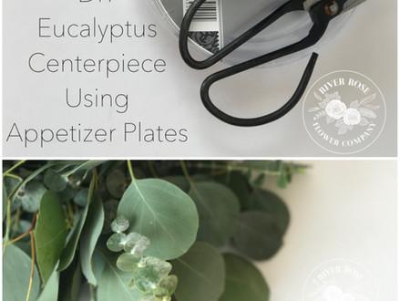 DIY Eucalyptus Centerpiece