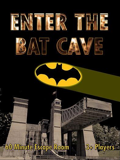 Enter the bat cave escape room in Peterborough Ontario