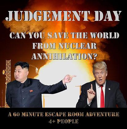 Lift Lock Escape Judgment Day Escape Room