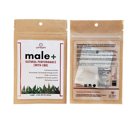 male+ 2 capsule convenience pack