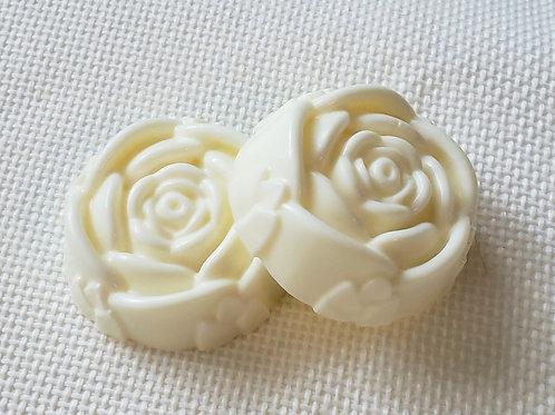 Creamy Rose Soap Bars - All Natural