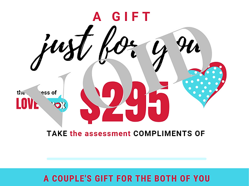 Gift Certificate - the assessment