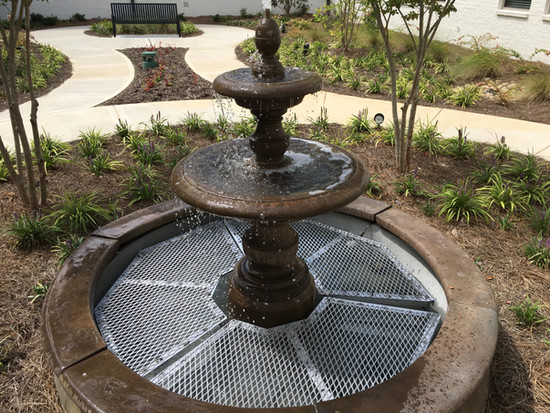aluminum saftey guard for fountain