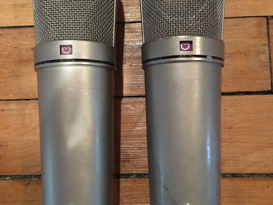 Native Sound Buys a Second Vintage Neumann U87. These Are a Dream For Drum Recording.