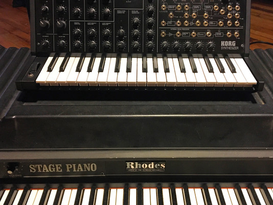Korg Ms-20 Added to the Collection at Native Sound Studio A