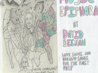 "David's new record, ""Music Epiphora"""