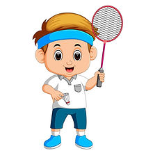 physical education (P.E.) teaching badminton lessons