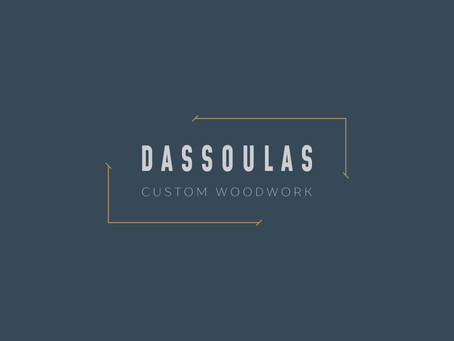 Modern Industrial Brand Design | Dassoulas Custom Woodwork