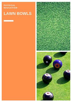 physical education (P.E.) teaching lawn bowls lessons