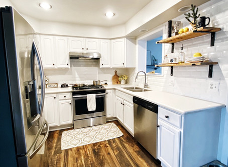 Clean and Bright Kitchen Renovation | Farmhouse Style