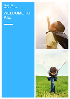 physical education (P.E.) teaching PE lessons
