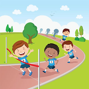 physical education (P.E.) teaching track and field lessons