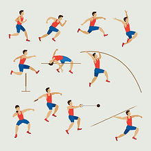 physical education (P.E.) teaching track & field lessons