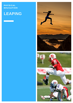 physical education (P.E.) teaching fundamental motor skills leaping lessons