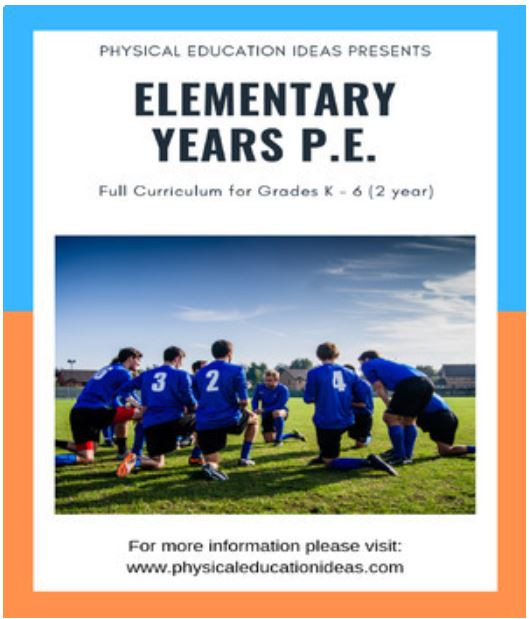 Physical Education lesson plans assessment curriculum
