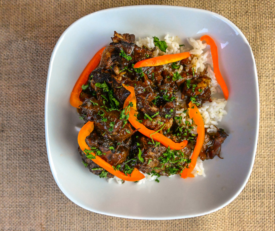 Oxtail with White Rice