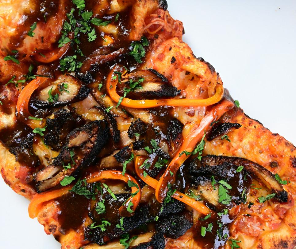 Spicy Jerk Pizza