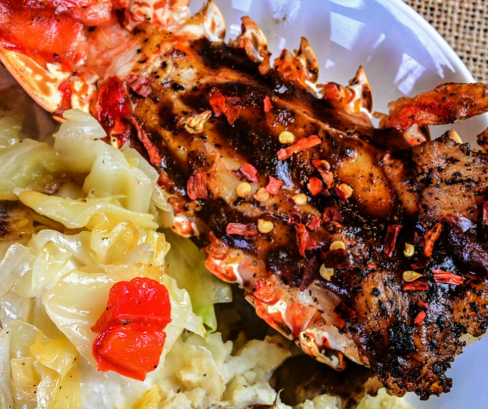 Jerk Lobster