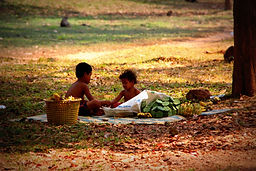 photos cambodge la roue des rêves voyage vélo