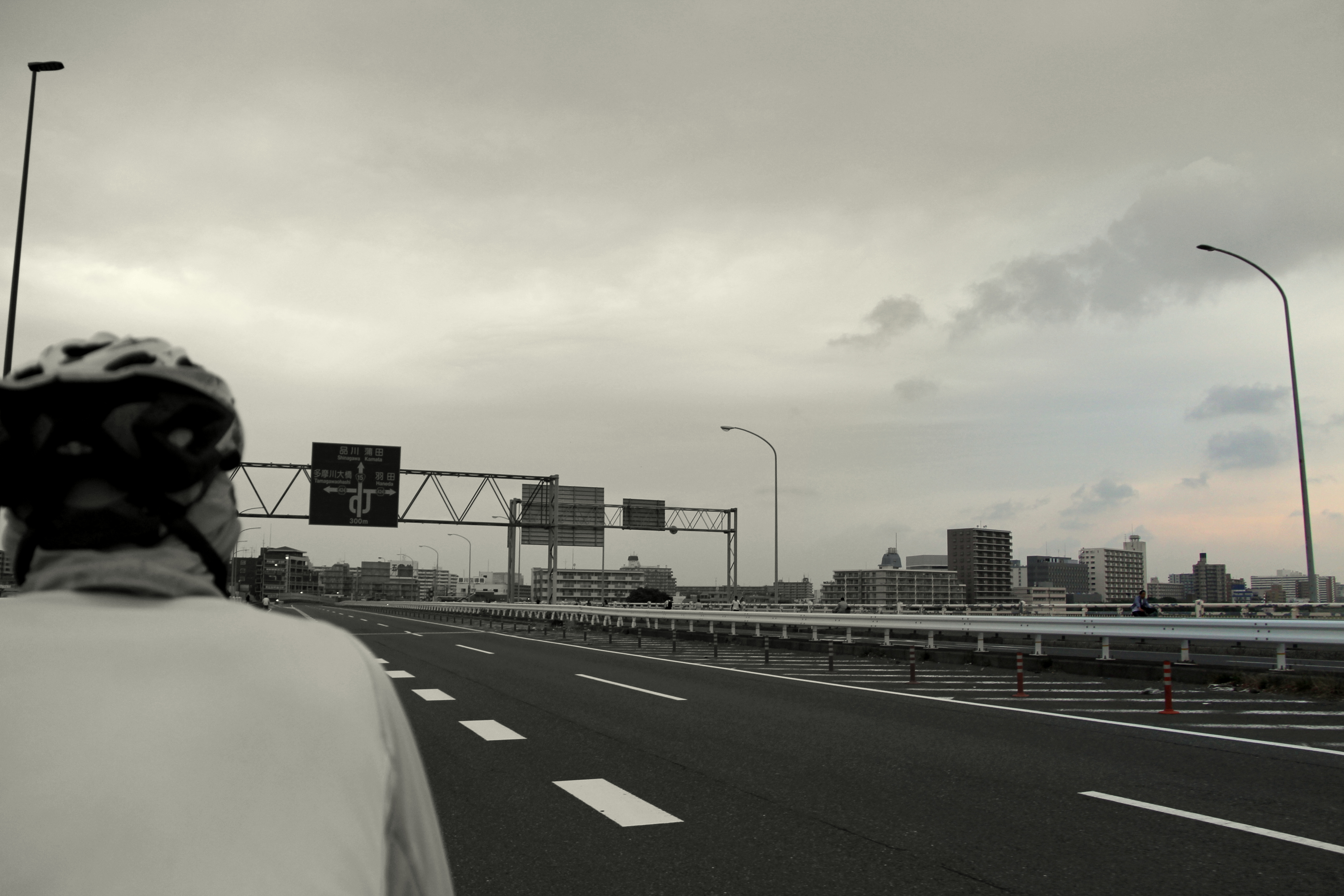 Cycling to Tokyo Airport