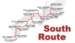 Route vélo sud japon