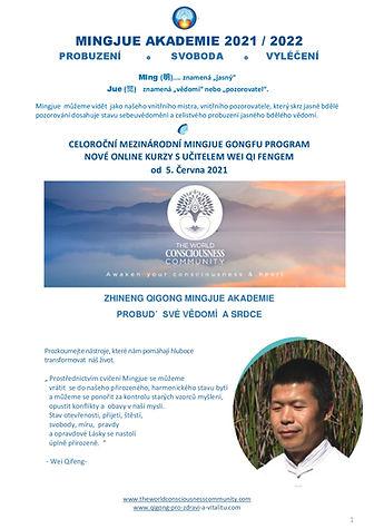 MINGJUE GONGU program - online kurzy s M