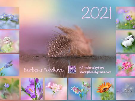 Nástěnné kalendáře 2021 jsou tu